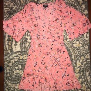 Topshop Women's Wrap Midi Dress 🌹